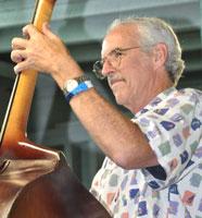 Marshall Wilborn playing bass