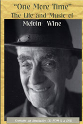 Cover of Melvin Wine DVD/CD set