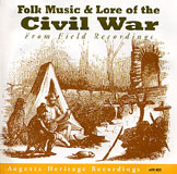 Cover of Folk Music & Lore of the Civil War CD